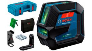 Лазерний нівелір Bosch Professional GLL 2-15 G у L-boxx із тримачем LB 10, стельовим кріпленням