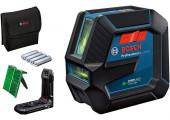Лазерний нівелір Bosch GLL 2-15 G Professional з тримачем LB 10, лазерною мішенню