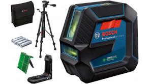 Лазерний нівелір Bosch GLL 2-15 G Professional зі штативом ВТ 150