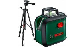 Лазерний нівелір Bosch AdvancedLevel 360 з футляром, батарейками, штативом TT 150