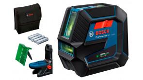 Лазерний нівелір Bosch GCL 2-50 G Professional з тримачем RM 10, чохлом, мішенню