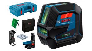 Лазерний нівелір Bosch GCL 2-50 G Professional в чемодані з тримачем RM 10, затиском DK 10, чохлом, мішенню
