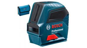 Лазерний нівелір Bosch GLL 2-10 Professional з чохлом