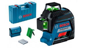 Лазерний нівелір Bosch Professional GLL 3-80 G в кейсі
