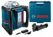 Ротаційний лазерний нівелір Bosch GRL 500 H в кейсі з тримачем LR 50, з/п