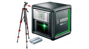 Лазерний нівелір Bosch Quigo green з штативом