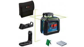 Лазерний нівелір Bosch Professional GCL 2-20 G із штативом і 4 батарейками
