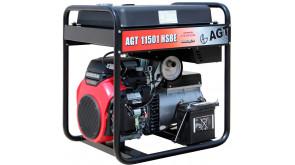 Генератор бензиновий AGT 11501 HSBE R45