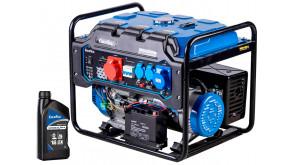 Генератор бензиновий EnerSol EPG-8500UE з 1 л мастила EnerSol Supreme-4T 10W40