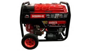 Генератор Vulkan SC6000-III бензин/газ