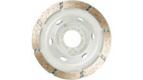 Алмазний чашковий шліфкруг Bosch Standard, 105x22,23x3 мм
