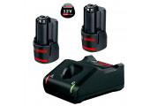 Набір 2 акумулятора Bosch GBA 12V 3.0Ah + ЗП GAL 12V-40