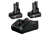 Набір 2 акумулятора Bosch GBA 12V 6.0Ah та ЗП GAL 12V-40