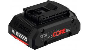 Акумулятор Bosch GBA 18V 4.0 Ah ProCore