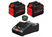 Набір 2 акумулятора Bosch ProCORE18V 12.0Ah + ЗП GAL 18V-160 C + GCY 30-4