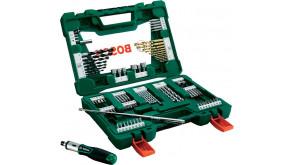 Набір свердел та біт Bosch V-Line, 91 шт