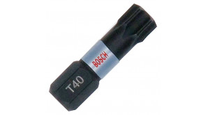 Біта Bosch Impact Control 25 мм T40, 1 шт
