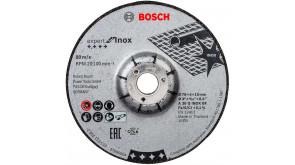 Шліфувальний круг Bosch Expert for Inox, 76х4х10 мм, 2 шт