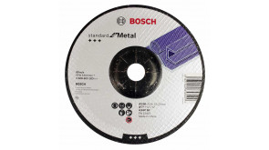 Круг зачисний Bosch Standard for Metal 180×6 мм
