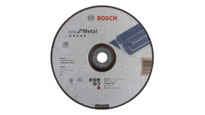 Круг зачисний Bosch Best for Metal 230×7 мм