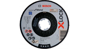 Круг відрізний Bosch X-Lock Expert for Metal, 125х2,5х22,23 мм