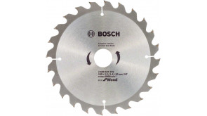 Пиляльний диск Bosch Eco for Wood 190x2,2x30-24T