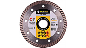 Алмазний круг Baumesser Turbo Universal 1A1R  125x1,8x8x22,23