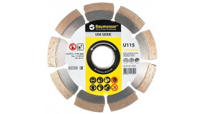 Алмазний круг Baumesser Universal 1A1RSS/C3 115x1,8/1,2x8x22,23-9-HIT