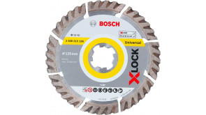 Алмазний диск Bosch X-Lock Standard for Universal 125x22,23x2x10 мм