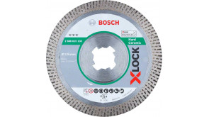 Алмазный диск Bosch X-Lock Best HardCeramic 125x22,23x1,6x10 мм