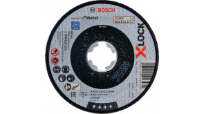 Круг відрізний Bosch X-Lock Expert for Metall, 115х2,5х22,23 мм, прямий