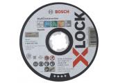 Круг відрізний Bosch X-Lock MultiMaterial, 125х1х22,23 мм, прямий
