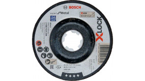 Круг обдирний Bosch X-Lock Expert for Metall, 115х6х22,23 мм, увігнутий