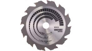 Пиляльний диск Bosch Construct Wood 160x20/16x2,6 мм 12