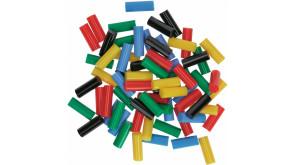 Клейові стрижні Gluey Bosch кольорові, 7х20 мм, 70 шт