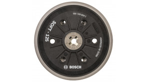 Шлифкруг универсальный Bosch мягкий 125 мм