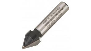 Фреза пазовая V-образная Bosch 8 мм, 11×14×45 мм, 60