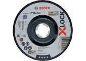 Круг обдирний Bosch X-Lock Expert for Metall, 125х6х22,23 мм, увігнутий