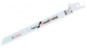 Пиляльне полотно Bosch S 711 DF, 6 TPI, 5 шт