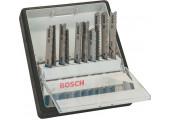 Набір пилок Bosch Robust Line Wood Expert, 10 шт