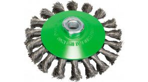 Щітка конічна Bosch нержавіюча 115 мм, 0,35 мм, M14
