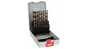 Набір свердел Bosch HSS-Co ProBox 1-10 мм, 19 шт