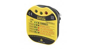 Тестер розеток настінний Fatmax AC 230 V Stanley FMHT82569-6