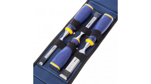 Набір стамесок Irwin MS500 у футлярі 3 шт. (10, 15, 20 мм)
