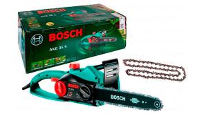 Пила ланцюгова Bosch AKE 35 S SET з додатковим ланцюгом
