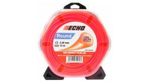 Волосінь косильна Echo 2,4 мм 12 м кругла