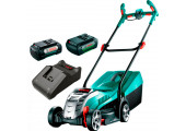 Газонокосарка акумуляторна Bosch Rotak 32 LI з 2 акб 36 V 4,0 Ah та з/п AL 36V-20 CV