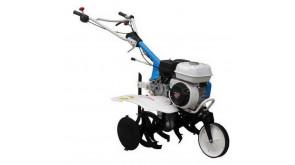 Мотокультиватор AGT 5580 GP160 із грунтообертаючою фрезою 80 см, колесом, окучником, зчіпкою