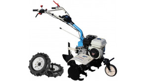 Мотокультиватор AGT 6500 GP160 із колесами, окучником, зчіпкою