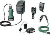 Акумуляторний насос Bosch GardenPump 18 з акб 18V 2,5 Ah та з/п AL 1810 CV